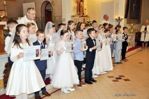 First Holy Communion Borris 2017