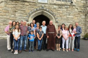 Fr Walter Gallahue Visiting his Brother Pat and Family