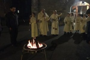 Easter Vigil Fire 31/03/2018